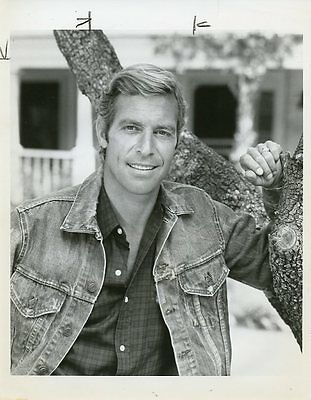 James Franciscus Smiling Portrait Doc Elliot Original 1974 Abc Tv Photo