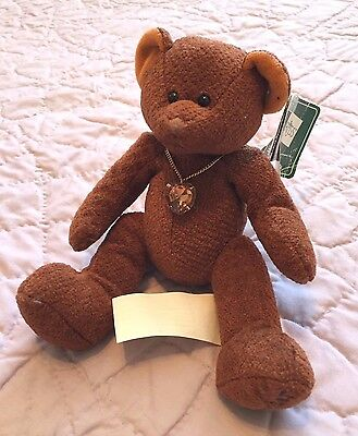 NOVEMBER Bear of the Month by RUSS Plush - Topaz Birthstone - Brown NWT
