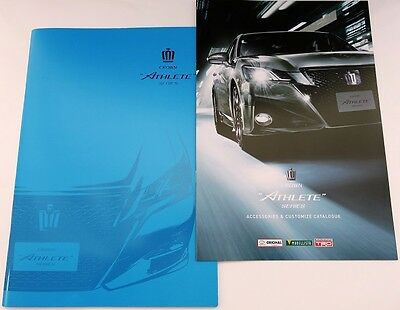 2016 TOYOTA CROWN ATHLETE Japanese Brochure & Accessories Catalogue