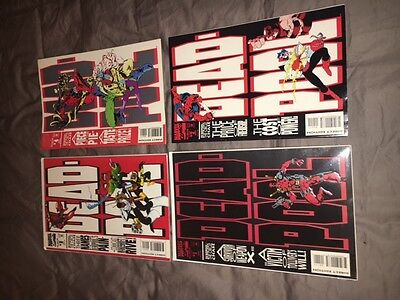 DEADPOOL The Circle Chase 1 2 3 4 Limited Series 1-4 Full Run Marvel Comics Lot
