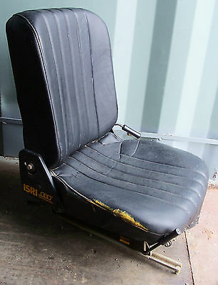 Used Isringhausen Seat 681671, Might Suit Forklift Bobcat Tractor $7 No Reserve
