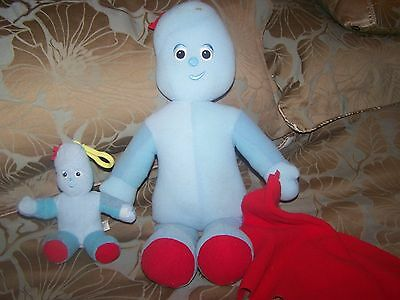 Iggle Piggle with Comfort Blanket Large Soft Toy/Plush Night Garden 20 Inches