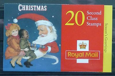 1997 Royal Mail Christmas Retail Booklet Lx14 20 X 2Nd Class