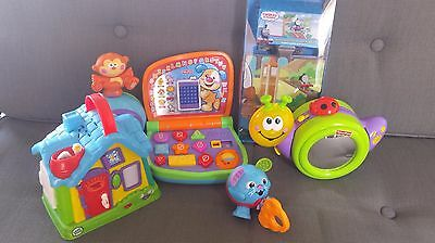 Assorted Toys Little Tikes and Fisher Price