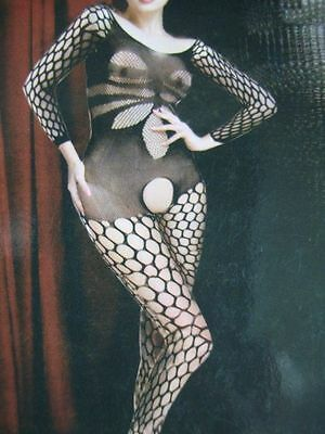 Catsuit Body Collant Combinaison Sexy Resille Maille Filet Neuf Bodystocking