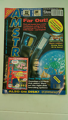 Amstrad Magazine - February 1993 - Cassette  Attached -  Unopened