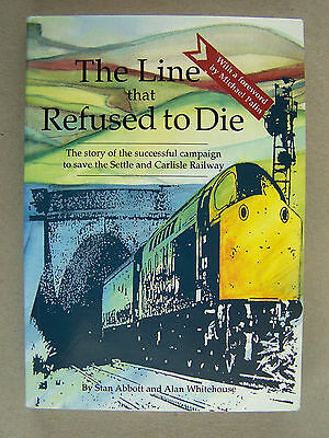 """the Line That Refused To Die."" Railway Trains Book."