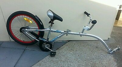 Wee Ride Co Pilot - Half Bike, Bike seat attachment. Great used condition