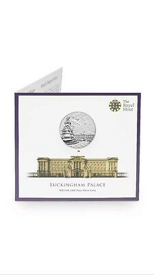 £100 COIN FOR £95 Royal Mint Buckingham Palace 2015 UK Fine Silver Coin-UK15100P