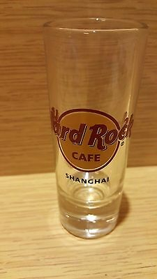 Hard Rock Cafe Shanghai CORE logo shot glass 4""