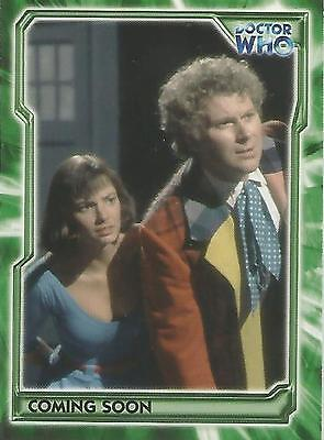 Doctor Who Trilogy - WHO-T/AE1 Promo Card