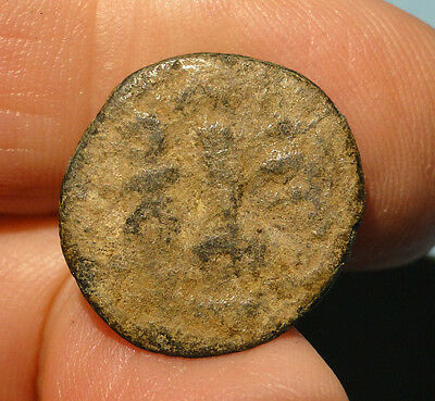 Intriguing Roman Bronze Coin requring Cleaning and Identification,