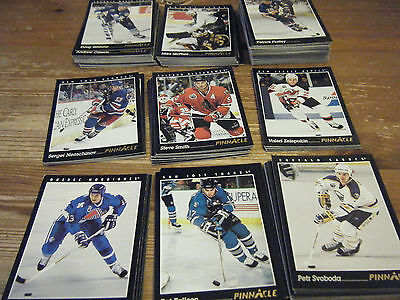 144  Pinnacle  1993 - 1994    American   Ice Hockey Cards   All Different