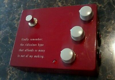 RARE - Klon KTR Overdrive Boost Guitar Effects Pedal ~FREE POSTAGE!~