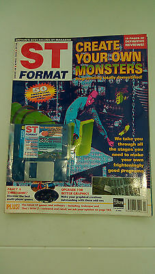 St Format Magazine - April 1993 -  Cover  Disk Attached - Unplayed