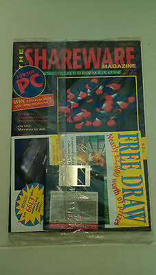 The Shareware  Magazine - May 1993 -  New Sealed Copy - Disk Included