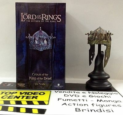 The Lord Of The Rings Crown Of The King Of The Dead Sideshow materiale: metallo