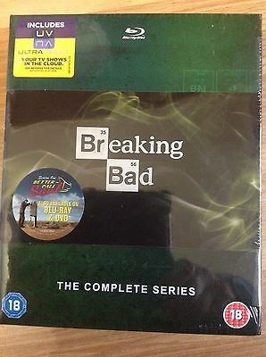 Breaking Bad - The Complete Series - UK BLU-RAY BOX SET - SEALED & BRAND NEW!