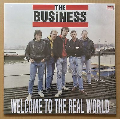 The Business - Welcome To The Real World (Brand New Sealed Vinyl Lp) - Day.04Vs