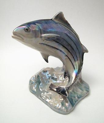 Vintage Wembley Ware Australian Pottery Bonito Tuna Fish Figurine Lustre Af