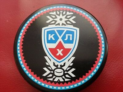 1 x KHL double sided Eishockey puck
