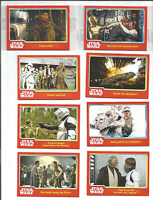 Star Wars Cheestrings Cards +Wrappers