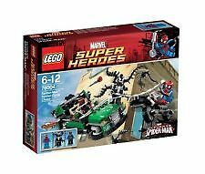 LEGO - Super Heroes - Spider-Man: Spider-Cycle Chase (76004) New & Sealed box
