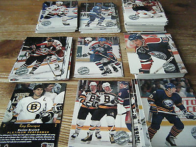 174  Pro Set Platinum  1992  American   Ice Hockey Cards  Mint  All Different