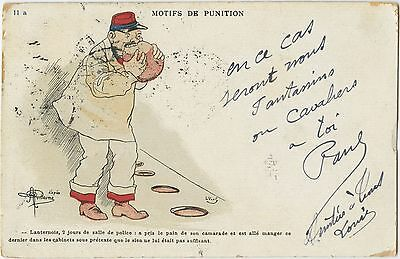 France, Postcard, Soldiers, Uniforms, Army, Humour, Date Range, 1903 -1907 (33)