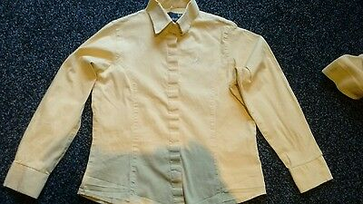 Sherwood Forest Competition Long Sleeved Canary Shirt - Size 23