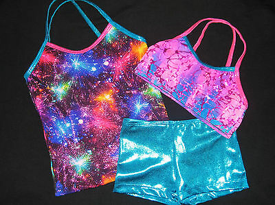 STUNNING LEOTARD/GYMNASTICS/DANCE - CLEARANCE SET - NEW - GIRLS 6, Girls 8 !!!