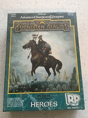 Ral Partha FORGOTTEN REALMS HEROES 10-550 Ad&d SW NEW 25mm
