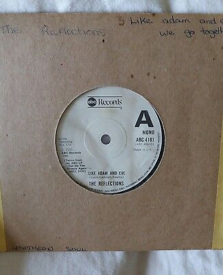 Northern Soul - The  Reflections  -    Like  Adam  And  Eve -  Abc  Records