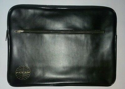 Pan Am Airline Brown Document Case