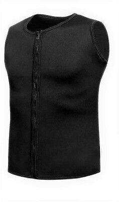 New Mens 3mm Black Neoprene Wetsuit Wet Suit Vest  Surf Surfing SUP Paddleboard