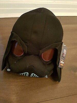 """Angry Birds Star Wars II Cuddly Toy Large 8"""" Plush Soft Toy Darth Vader"""