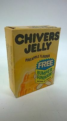 Vintage packet of Chivers Pineapple Jelly never opended circa 1950's