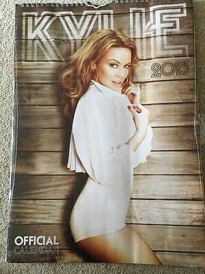 Kylie Minogue Official 2013 Calendar Sealed