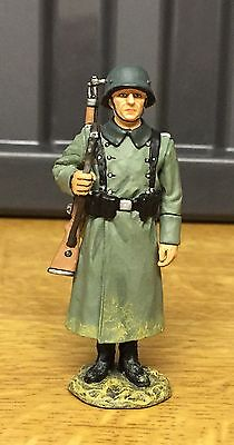 King And Country Ww2 German Trooper On Guard.  Mint In Box