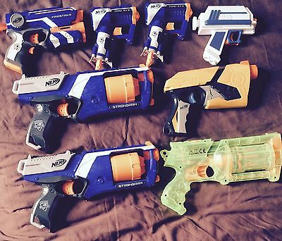 Selection Of Nerf Guns All In One Auction