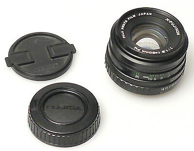 (PRL) X-FUJINON 50 mm f/1.9 RICAMBIO RICAMBI SPARE PART PARTS AS IT IS LIKE PIC