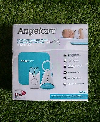 Angelcare Simplicity AC601 Movement and Sound Baby Monitor