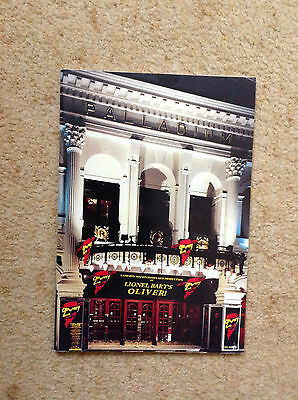 Lionel Bart's Oliver programme London Palladium  Barry Humphries,Sonia Swaby