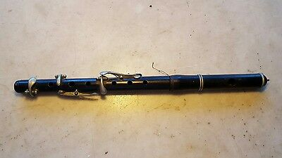 Antique Circa 1900 Wood Piccolo-For Parts or Restoration Project