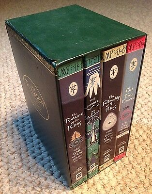 J.r.r. Tolkien 4 Book Box Set: The Hobbit And The Lord Of The Rings 1997
