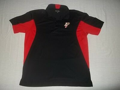 BIG BOY RESTAURANT RUNNING BIG BOY EMBROIDERED CASUAL POLO WORK SHIRT Size L
