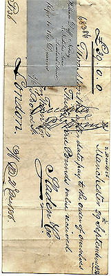 3 x Antique Promissory Notes dated 1855 2 x 1856