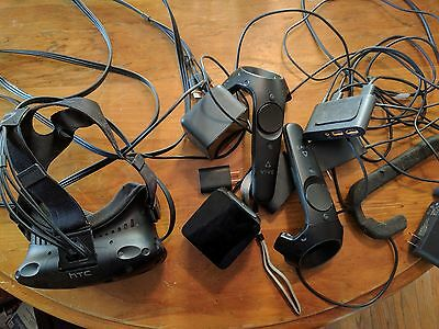 HTC Vive VR Headset Lightly used