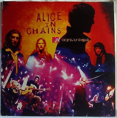 ALICE IN CHAINS MTV UNPLUGGED RARE 2LP 1st PRESSING