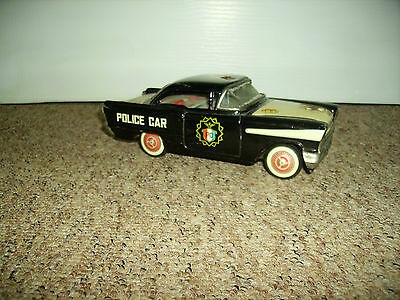 Japanese Tin American Police Car toy